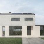 Una casa sostenibile che unisce all'architettura un'altissima efficienza